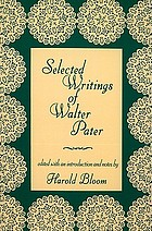 Selected writings of Walter Pater