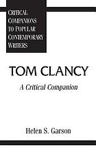 Tom Clancy : a critical companion