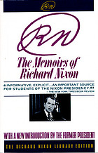 RN : the memoirs of Richard Nixon, with a new introduction