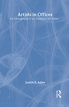 Artists in offices : an ethnography of an academic art scene