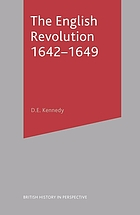 The English Revolution, 1642-1649