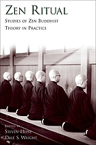 Zen ritual : studies of Zen Buddhist theory in practice