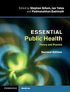 Essential public health : theory and practice