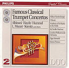 Famous trumpet concertos of the Baroque.