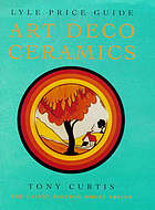 Lyle price guide, art deco ceramics