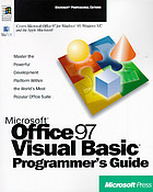 Microsoft Office 97 Visual Basic programmer's guide.