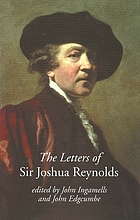 The letters of Sir Joshua Reynolds
