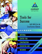 Tools for success : soft skills for the construction industry