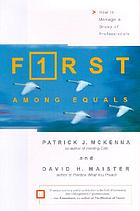 F1rst among equals : how to manage a group of professionals