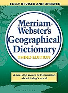 Merriam-Webster's geographical dictionary.