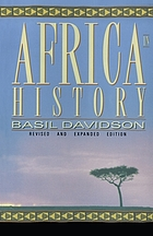 Africa in history : themes and outlines