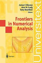 Frontiers in numerical analysis : Durham 2002
