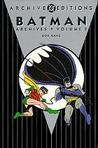 Batman archives, volume 3