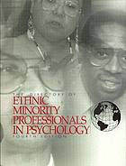 The directory of ethnic minority professionals in psychology