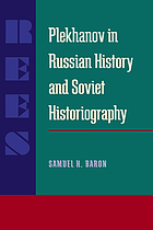 Plekhanov in Russian history and Soviet historiography