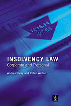 Insolvency law : corporate and personal