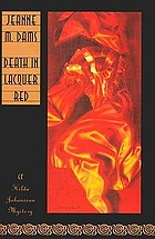 Death in lacquer red : a Hilda Johansson mystery