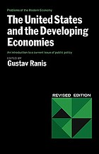 The United States and the developing economies,