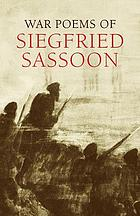 War poems of Siegfried Sassoon.