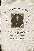 William Henry Harrison and other poems