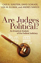 Are judges political? : an empirical analysis of the federal judiciary