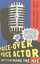 Voice-over voice actor : what it's like behind the mic