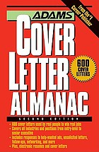 Adams cover letter almanac.