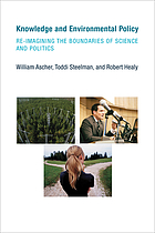 Knowledge and environmental policy : re-imagining the boundaries of science and politics