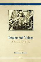 Dreams and visions : an interdisciplinary enquiry