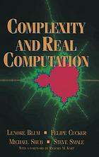 Complexity and real computation ...