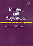 Mergers & acquisitions : the innovation impact