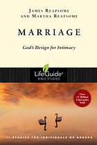 Marriage, God's design for intimacy : 12 studies for individuals or groups