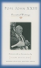 Pope John XXIII : essential writings