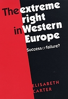 The Extreme Right in Western Europe : Success or Failure?