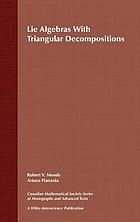 Lie algebras with triangular decompositions