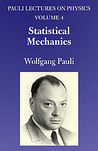 Lectures on physics. 4, Statistical mechanics