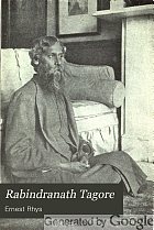 Rabindranath Tagore; a biographical study,