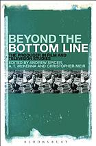 Beyond the bottom line : the producer in film and television studies