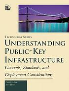 Understanding public-key infrastructure : concepts, standards, and deployment considerations