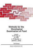 Methods for the mycological examination of food