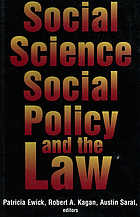 Social science, social policy, and the law