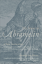The book of Abramelin : a new translation