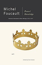 Power/knowledge : selected interviews and other writings, 1972-1977
