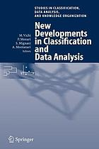 New developments in classification and data analysis : proceedings of the meeting of the Classification and Data Analysis Group (CLADAG) of the Italian Statistical Society, University of Bologna, September 22-24, 2003