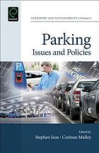 Parking : issues and policies