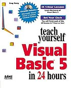 Teach yourself Visual Basic 5 in 24 hours