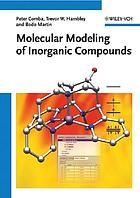 Molecular modeling of inorganic compounds