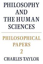 Philosophy and the human sciences