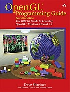 OpenGL programming guide : the official guide to learning OpenGL, versions 3.0 and 3.1
