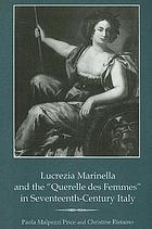 Lucrezia Marinella and the